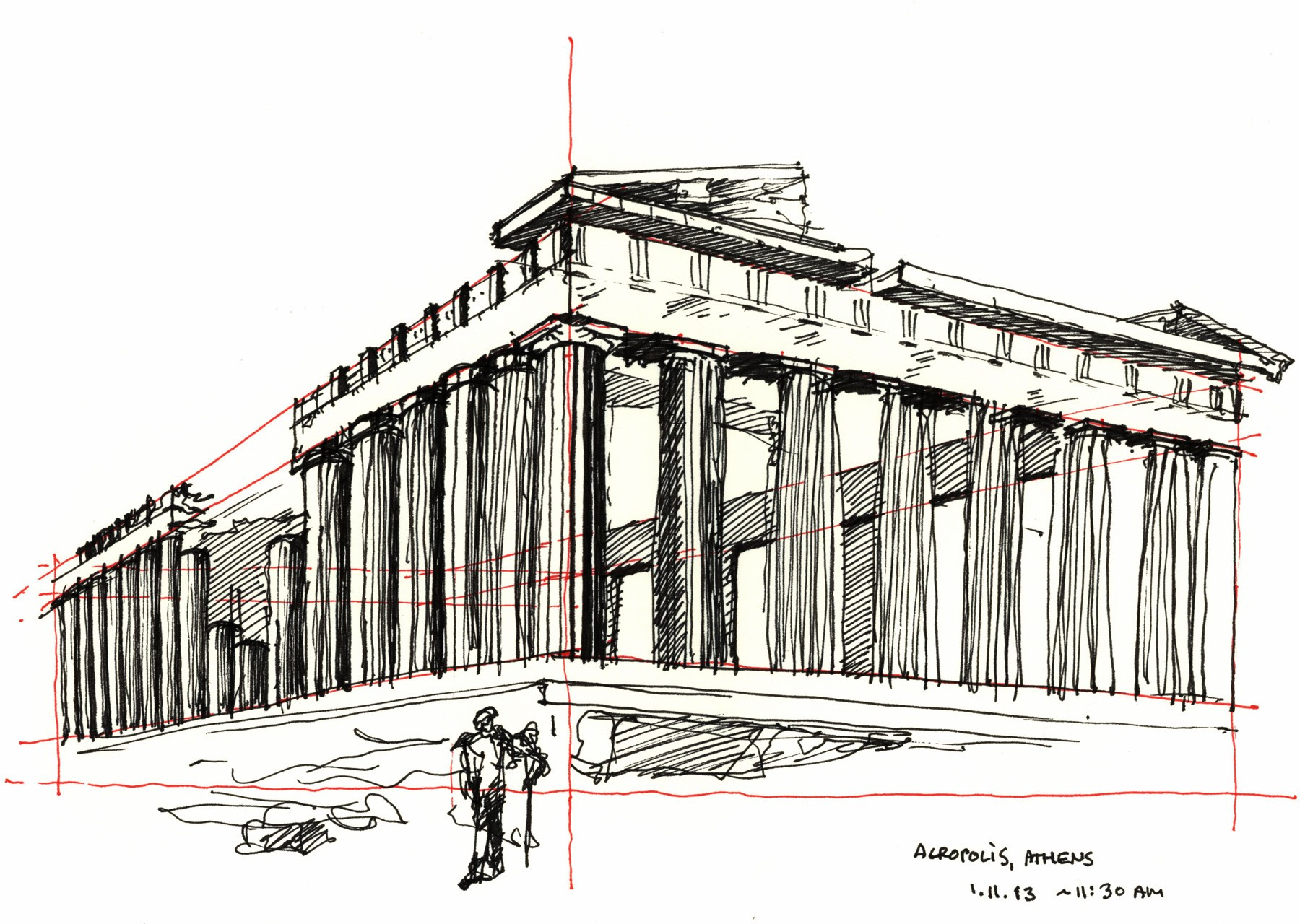 2014-01-11 The Parthenon, Athens